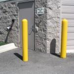 Bollards Door Protection