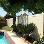 White Pool Fence 1